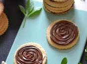 Biscuits fourrés pâte tartiner