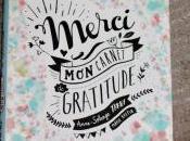 Merci, journal gratitude