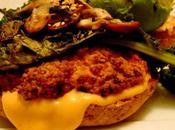 Hamburger d'automne avec kale braisé