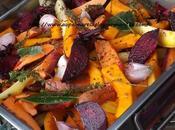 Légumes d'hiver rôtis confits four