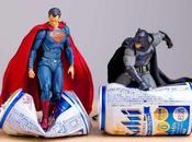 scène amis super-héros dans différentes situations.