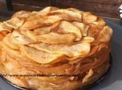 Gateau confit pommes,sans farine,sans oeufs, sans gras,ni produits laitiers trés allégé