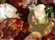 Médaillons porc sauce hongroise