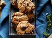Cookies vegan chocolat, banane beurre cacahuète