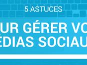astuces pour gérer médias sociaux #NEOMEDIAS