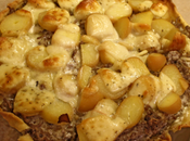 Tarte restes fromages raclette