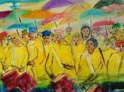 Ambiance carnaval aquarelles