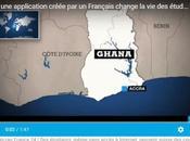 Ghana, start-up cree application permet suivre cours smartphone meme sans acces internet.