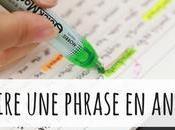 Comment construire phrase anglais