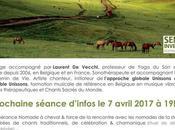 Voix-yage accompagné Laurent Vecchi Prochaine séance d'infos avril 2017