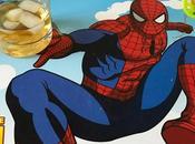 Spiderman sert whisky