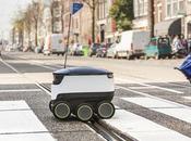 livreurs Domino's Pizza remplacés robots