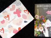 récap' Birchbox Poésie d'Avril