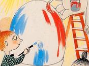 """""""Habituellement, n'aime concours suis affreusement déçu gagne pas, mais j'aime toujours chercher oeufs."""" mémoires papa Moomin"""