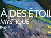 Au-delà étoiles. paysage mystique Monet Kandinsky