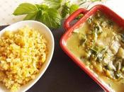 Gratin Blettes, sauce blanche l'infusion d'orties, d'égopode sarriette (Vegan)