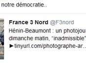 Grave atteinte liberté d'informer Hénin-Beaumont #FN. Police collabos. #violencespolicieres