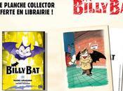 planche collector offerte librairie pour l'achat d'un tome Billy
