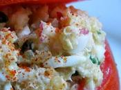Tomate farcie quinoa blanc