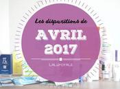 disparitions d'Avril 2017