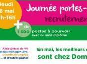 1500 postes pourvoir 2017 chez Domidom
