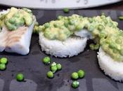 curry cabillaud petits pois avec