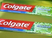 COLGATE L'article tient haleine, nouveau Maxfresh vert.