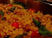 Couscous israélien façon d'un risotto