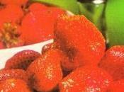 Baba fraises l'orange