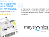 Avis clients Philippe séduit sérieux marque Amipool Dolphin picots Maytronics