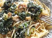 Spaghetti épinards l'ail Spinach Garlic