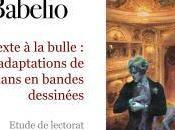 Babelio présente étude adaptations romans bandes dessinées