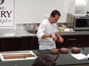 Démo Thierry Bamas MOF, Chocolate Academy