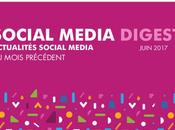 Social Media Digest Juin retour actualités réseaux sociaux