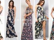 L'été imprimés Maxi Dresses shopper