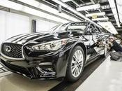 production l'Infiniti 2018 commencée Japon