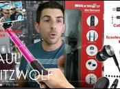 BLITZWOLF haul Avis Perche Selfie Monopod Ecouteurs...