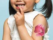 été, laissez-vous tenter tatouages parfumés pour sentir