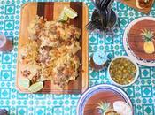 #PouletCA #AD- Mini Burger Poulet avec salsa mangue nachos