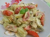 Salade pommes terre champignons pesto