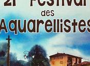 21ème festival aquarellistes Bagnols Beaujolais