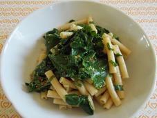 Pâtes chou Kale maritime salade (Vegan)