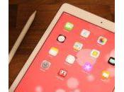 iPad (iOS nouvelles fonctionnalités liées Apple Pencil