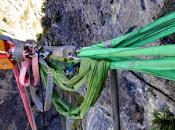 Highline chute Backup 155m Partie Moonwalk fall Part