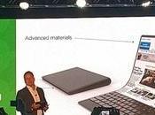 Lenovo présente concept laptop flexible pliable
