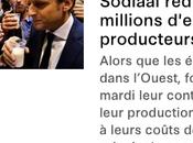 producteurs lait doivent millions Macron