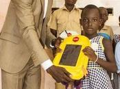 Evariste Akoumian, inventeur cartable solaire