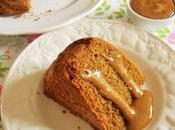 Gâteau noix caramel crémeux