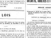 juillet 1962, indépendance l'Algérie