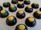 Chocolats fins basilic-citron noir